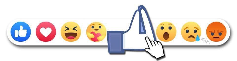 Italian fingers gesture as Facebook reaction meme