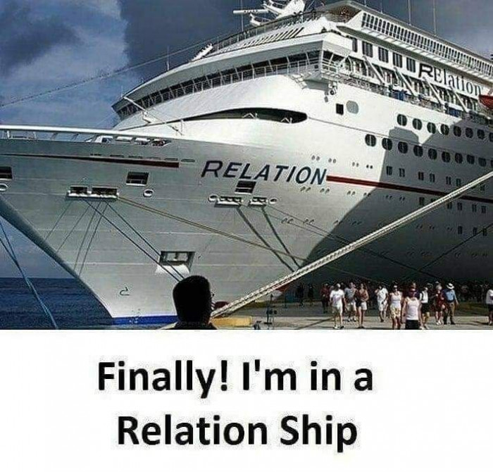 Finally! I'm in a Relation Ship